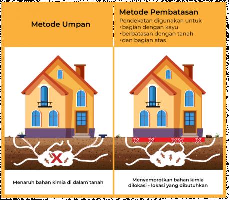 metode pemberantasan rayap